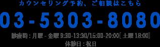 電話:03-5303-0808